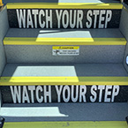 Watch Your Step Risers