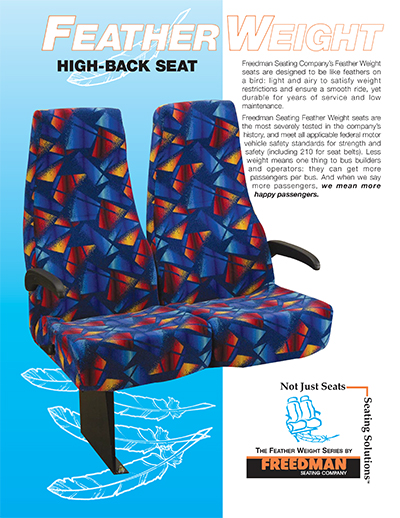 Feather Weight High-Back Seats