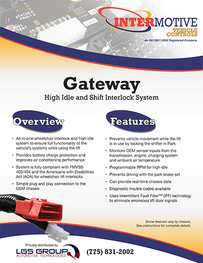 Intermotive Gateway