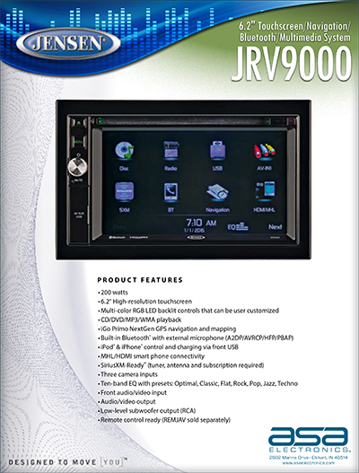 Touch Screen AM/FM/CD/NAV