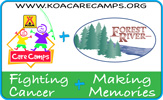 KOA Care Camps, fighting cancer and making memories